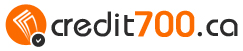 Credit700.ca mobile logo